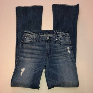 7 For All Mankind Jeans - 7 For All Mankind  A-Pocket Boot Cut Jeans Sz 25